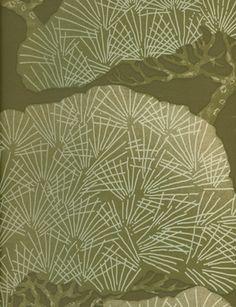 Pines wallpaper from Little Greene Paint Co.