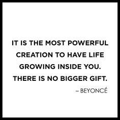 Beyonce on Motherhood // Motherhood Maternity