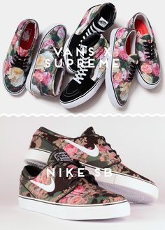 vans x supreme vs. nike sb / see more http://battle.hejty.com