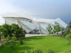 The long-awaited Foundation Louis Vuitton, designed by Frank Gehry, will finally open its doors on October 27. The building has been compared, at various points, to a cloud, an iceberg, and a ship