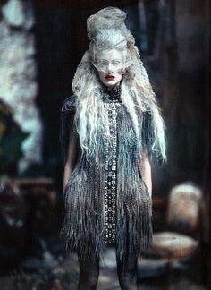 Paolo Roversi. 'The Grand Couture'. Kristen McMenamy, Vogue Italia, Sept 2010.