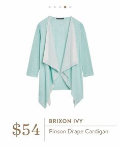 Brinson Ivy Pinson Draped Cardigan. I love Stitch Fix! A personalized styling service and it's amazing!! Simply fill out a style profile with sizing and preferences. Then your very own stylist selects 5 pieces to send to you to try out at home. Keep what you love and return what you don't. Only a $20 fee which is also applied to anything you keep. Plus, if you keep all 5 pieces you get 25% off! Free shipping both ways. Schedule your first fix using the link below! #stitchfix @stitchfix…
