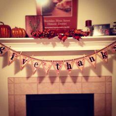 Thanksgiving banner.