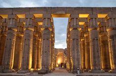 Inside Luxor Temple, Egypt #egypt