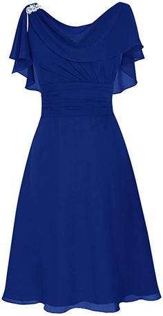 Scoop Chiffon Backless Prom Dress Evening Dress Evening Party Dr… - for women sites Affordable Dresses, Elegant Dresses, Pretty Dresses, Beautiful Dresses, Backless Prom Dresses, Homecoming Dresses, Short Dresses, Ball Dresses, Bridesmaid Dresses Plus Size