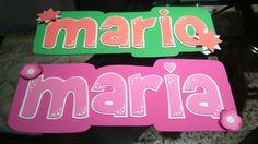Cartel #manualidades mario maria