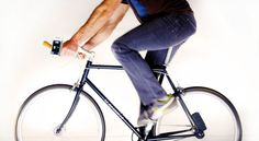 The Atom: A phone charger that you power with YOUR BIKE! I want.
