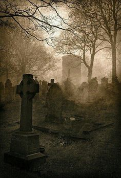 Classic Ghost Stories Podcast – Read by Tony Walker Cemetery Headstones, Old Cemeteries, Cemetery Art, Graveyards, Dark Places, Abandoned Places, Dark Art, Wicca, Creepy