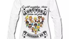 Langarm Shirt für Erzieherinnen