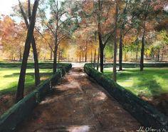 Madrid, Sidewalk, Home, Castles, Art, Side Walkway, Walkway, Walkways, Pavement