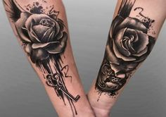 Feed Your Ink Addiction With 50 Of The Most Beautiful Rose Tattoo Designs For…