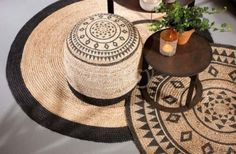 "Lifestyle94-Lifestyle Jute Round Carpet L 126637 <span style=""font-size: 6pt;""> Tapijt-Vloerkleed-tapis-Moquette-teppich </span>"