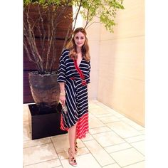 Olivia Palermo in Preen by Thornton Bregazzi and Christian Louboutin shoes