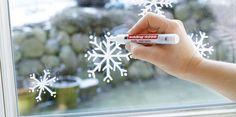 Une idée originale pour décorer ses fenêtres à Noël