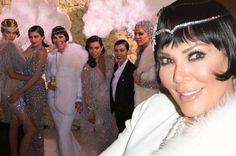 60 vjeçarja, Kris Jenner nuk di të plaket! Ajo feston ditëlindjen :O (Foto)