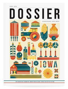 Bratislav Milenkovic | Iowa – Dossier  a great designer - fantastic illustrations - a real inspiration for us