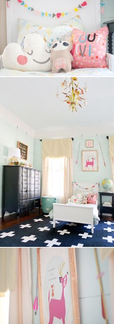 http://laybabylay.com/shared-room-inspiration/  So adorable! I want to live here.