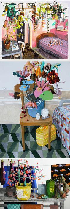 Paintings by Erik Mattijssen