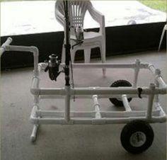 Fishing gear cart