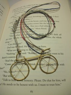 Check out this item in my Etsy shop https://www.etsy.com/listing/216091267/wire-wrapped-bicycle-pendant-brass-wire