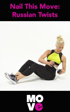 Tone and tighten your core with this quick exercise.