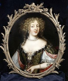 "ca. 1675 - ""La Belle Jennings"" - Frances Jennings (c.1647-1730) later Frances Talbot, Countess of Tyrconnel by French artist Henri Gascar"