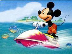 Mickey having tons of fun on a wave runner. Walt Disney, Disney Mickey Mouse, Retro Disney, Arte Do Mickey Mouse, Mickey Mouse Y Amigos, Mickey Mouse And Friends, Disney Art, Disney Visa, Mickey Mouse Pictures