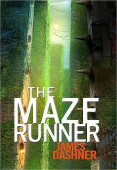 The Maze Runner (Maze Runner, #1)  When Thomas wakes up in the lift, the only thing he can remember is his first name. His memory is blank. But he's not alone. When the lift's doors open, Thomas finds himself surrounded by kids who welcome him to the Glade—a large, open expanse surrounded by stone walls.