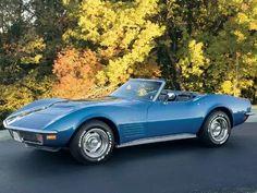 1970 Chevrolet Corvette Roadster #chevroletcorvette1968
