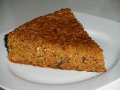 A Butter Free, Nutty & Healthy Version of a Moist Carrot Cake Recipe. This looks amazing!!!