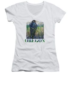 OREGON Get Wild Peregrine Falcon | T-shirts, Tank Tops and Women's V-Neck Tees