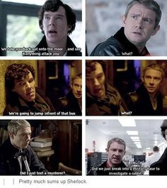 In the original stories, John was a flat character to emphasize by contrast Sherlock's extraordinary qualities. In this BBC incarnation, John is just a constantly confused but compassionate person, to emphasize by contrast that Sherlock is freaking nuts. I kinda love it.: