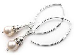 Freshwater Pearl Earrings - Catherine