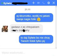 Śmieszne rozmowy: Facebook 18 Funny Sms, Funny Text Messages, Wtf Funny, Funny Texts, Polish Memes, Funny Conversations, Everything And Nothing, Good Mood, Best Memes