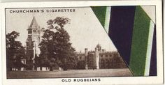 """Old Rugbeians - """"Well Known Ties"""" W.A. cigarette cards"""