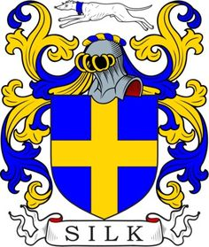 Silk Family Crest and Coat of Arms