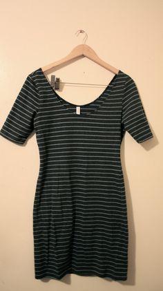 Striped Blue Dress $10.00