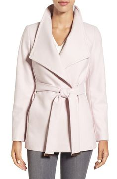 Ted Baker London Ted Baker London Wool Blend Wrap Coat available at #Nordstrom