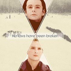 Breaking Dawn part 2 ~ Carlisle and Aro