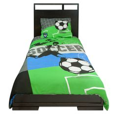 "soccer bedrooms | TWIN COMFORTER SET (39"") - SOCCER - Eversuns Company Limited Soccer ..."