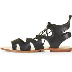 TOPSHOP FIG Lace-Up Sandals