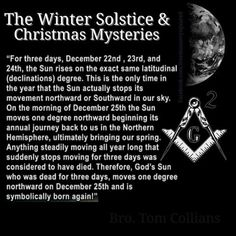 Occult Meanings of Winter Solstice and Christmas - The Truth Seeker Occult Meaning, History Facts, Women's History, British History, History Books, Ancient History, Black History, American History, Native American