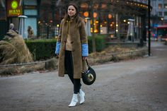 #Stockholm  #FashionWeek  The Best Street Style Pics From Stockholm Fashion Week