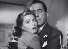 Ingrid Bergman and Humphrey Bogart in Casablanca (Michael Curtiz, 1942)