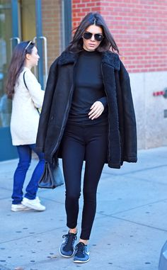 Kendall Jenner from The Big Picture: Today's Hot Pics  Just days before the Victoria's Secret Fashion Show, the Keeping Up With the Kardashians star is spotted in New York City.