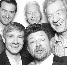 The amazing cast of the Hobbit <3