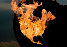 3rd Rock from the Sun: Stylish Fire Pits Shaped Like the Earth