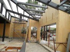 Risultati immagini per strutture acciaio legno