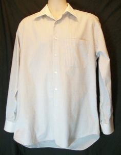 ##$36.89 Ike Behar New York Men's Dress Shirt Size 15.5