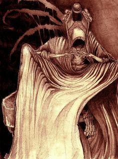 Wie man durch die Dark Tower Comics erfährt, sind Roland Deschain und der Scharlachrote König sich ähnlicher als anfangs gedacht. Der Scharlachrote König ist ein direkter Nachkomme Arthur Elds. Dieser wurde von Maerlyn und den weiteren direkten Nachkommen der Prim betrogen. Eld zeugt in der Nacht nach seiner Inthronierung mit einem der chaotischen Wesen einen Nachkommen. Doch dieser folgt -ganz so, wie Maerlyn es vorgesehen hatte - nicht den Werten des Weißen, sondern wird der Kronprinz des…